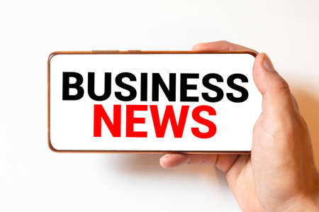 News Business Communication Marketing talk, Modern business workplace with on website on digital, Financial business online, technology and people