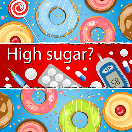 diabetes syringe: Medical background of High sugar
