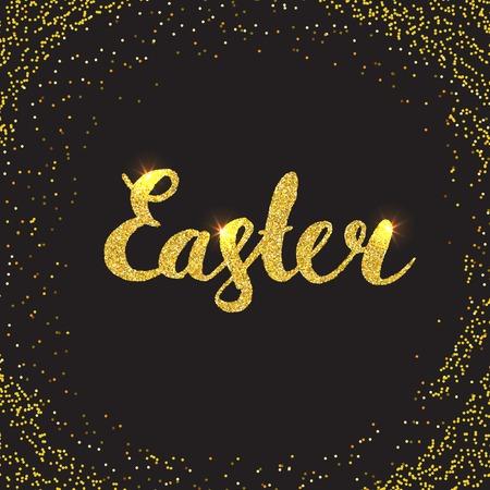 glisten: Easter Card with glitter.