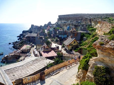 malta: malta popeye village