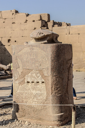 thebes: luxor temple, egypt