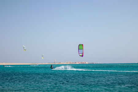 kaitboarding beach , soma bay