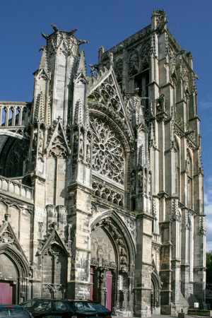 Dieppe, France - Church of St. Jacques