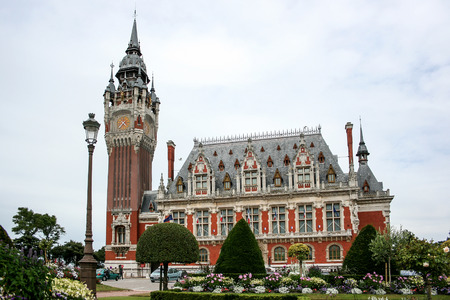 main square in the town centre of calais in the pas-de-calais department of the nord-picardy regions of france