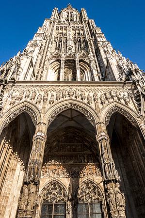 Ulm Minster, Cathedral, Ulmer Muenster, in Ulm, Germany photo