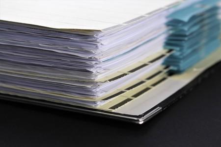Een afbeelding van een binder