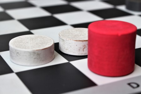 An image of a gameboard Stock Photo