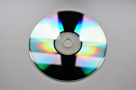 dvd rom: An image of a cd rom disc