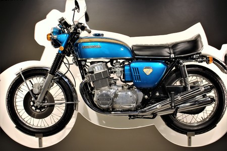 Honda 750 - PS Storage Museum - Einbeck  Germany - 2017 March 26. Editorial