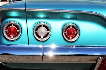 thunderbird: An image of a classic car - Kaunitz  Germany - 2017 May 27.