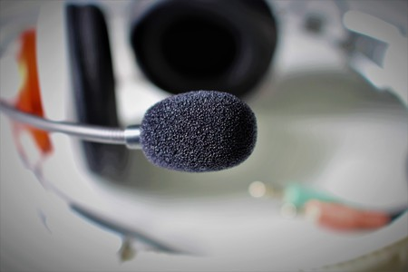 An image of a microphone - headset