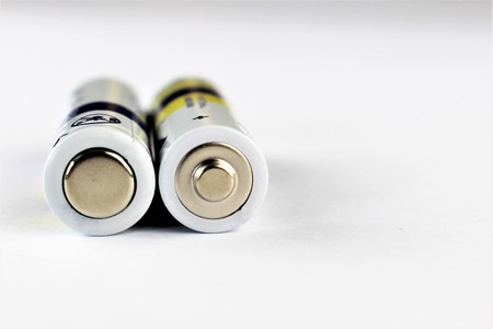 An Image of a battery Stock Photo