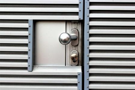 An image of a security door Stock Photo