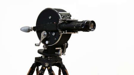 Vintage aircraft film camera