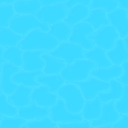 Pool water texture. Clean sea water texture. Vector square background. EPS 10 file format