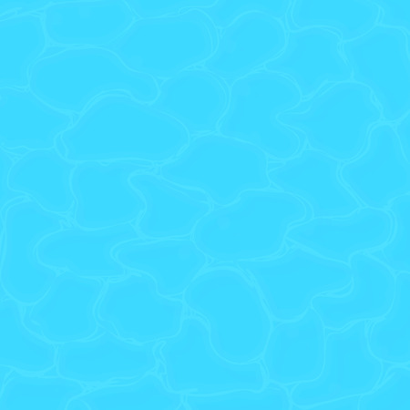 Pool water texture. Clean sea water texture. Vector square background
