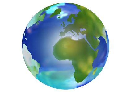 southern europe: globe