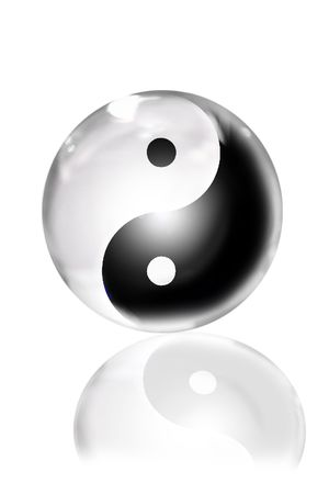 yin yang Stock Photo - 3212555
