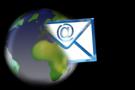southern europe: mail Stock Photo