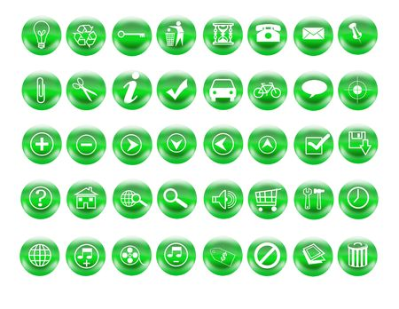 recycle buttons photo