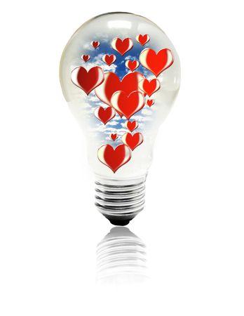 love bulb photo
