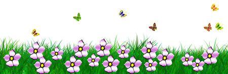 spring banner Stock Photo