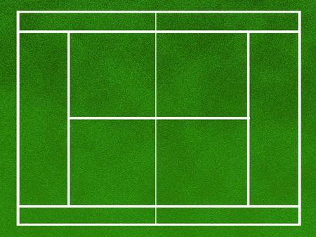 tenis de campo Foto de archivo - 4477219