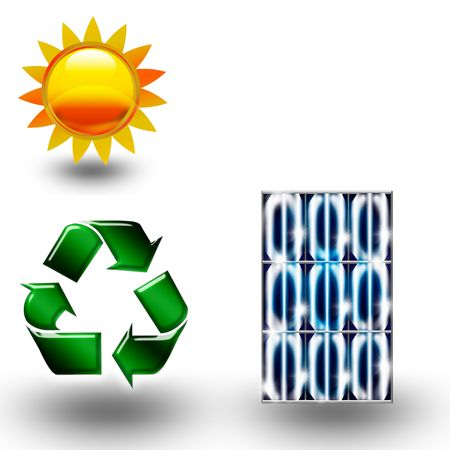 recycle icons photo