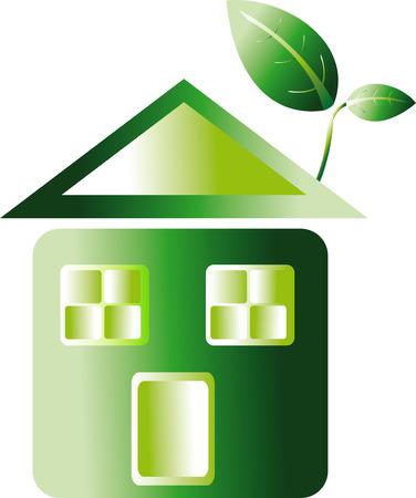 renewal: eco home Illustration