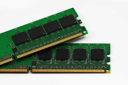 carnero: memoria de la computadora Foto de archivo