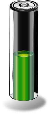 green battery photo