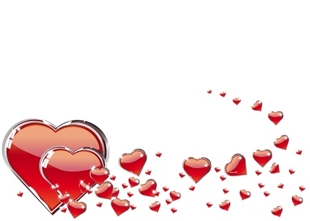 red heart Stock Photo - 8620737