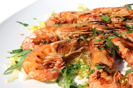 grilled shrimp photo