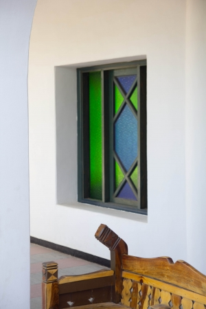 colored window: colored window