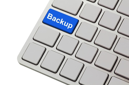 backups: backup button