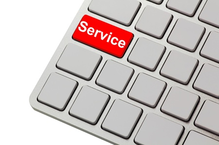 service button Stock Photo - 14461135