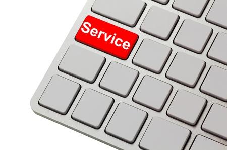 service button photo