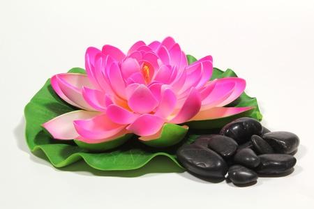 wellness and black stones Stock Photo - 17102000