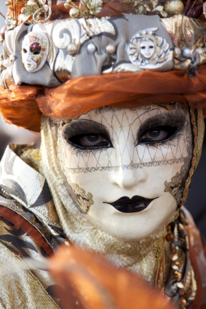 painted face mask: Venice carnival mask