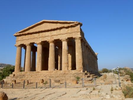 temple grec: Temple grec Banque d'images