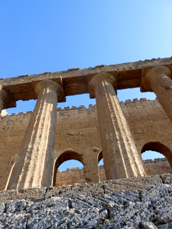 greek temple photo