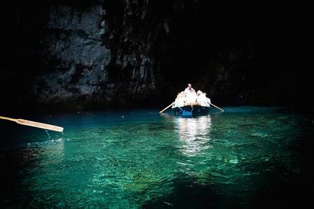limnetic: Melissani cave,Kefalonia,Greece Editorial