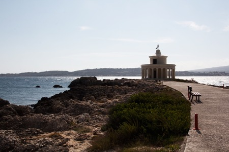 a view of Kefalonia lighthouse