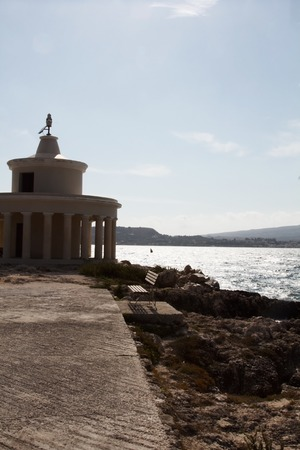 ionio: a view of Kefalonia lighthouse