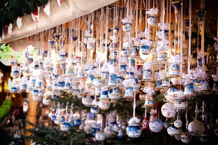 a view of some christmas decoration photo