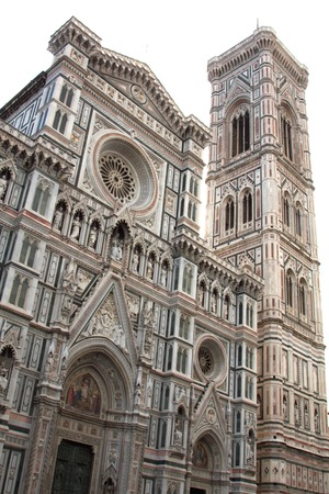 a view of Florence cathedral, Italy photo