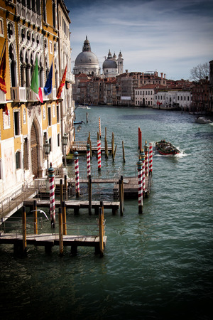 a view of Venice,Italy photo