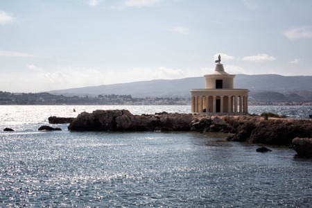 cefallonia: a view of Kefalonia lighthouse