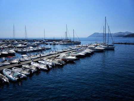 vulcano: A view of Lipari beach, Sicily,Italy