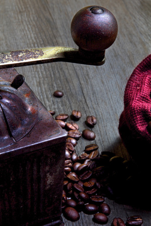 a detail of a coffee photo